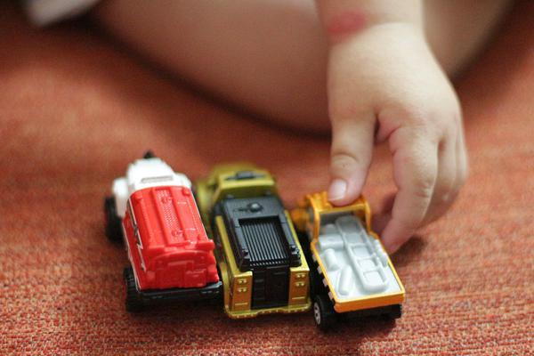 Zabawka parking dla chłopca