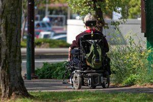 Skuter dla osoby niepełnosprawnej