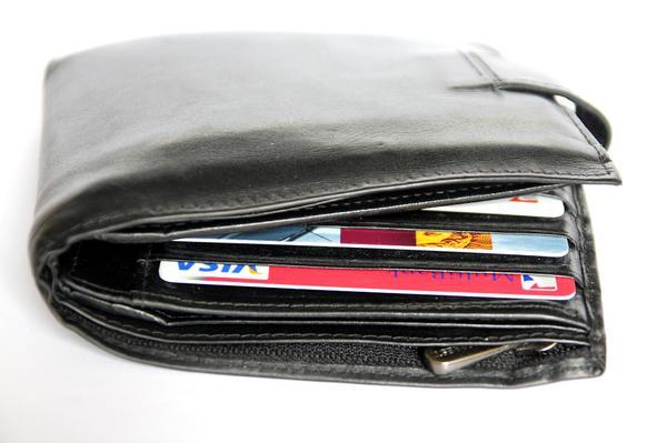 Eleganckie skórzane portfele